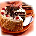 Cakes to India : Black Forest Cakes to India