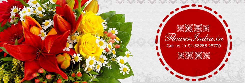 Flowers To India Send Birthday Gifts Cakes
